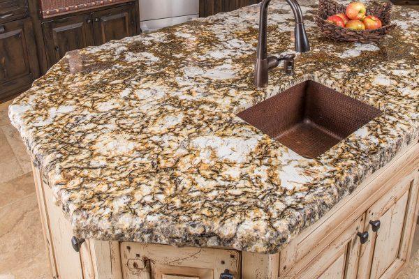 Granite Kitchen Island 1
